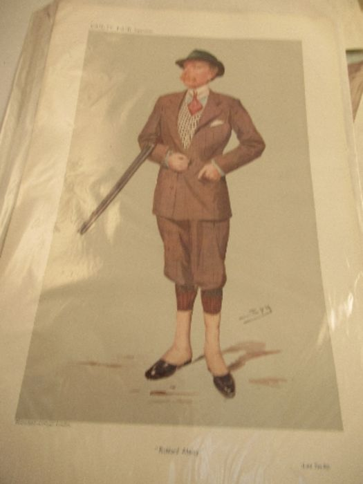 A collection of Vanity Fair prints, approximately 10 - Image 2 of 11