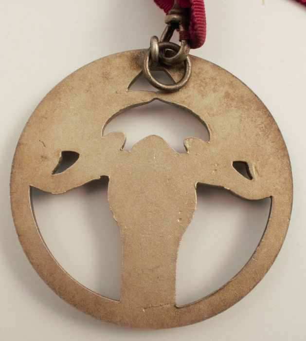 A Moose Lodge medal, on ribbon, together with membership details - Image 5 of 5