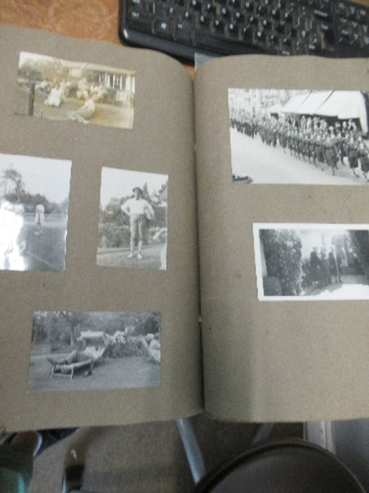 World War II, photograph / scrap album relating to Air Chief Commandant Dame Mary Welsh, from her - Image 5 of 6