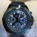 A SO & CO gents wrist watch, cased