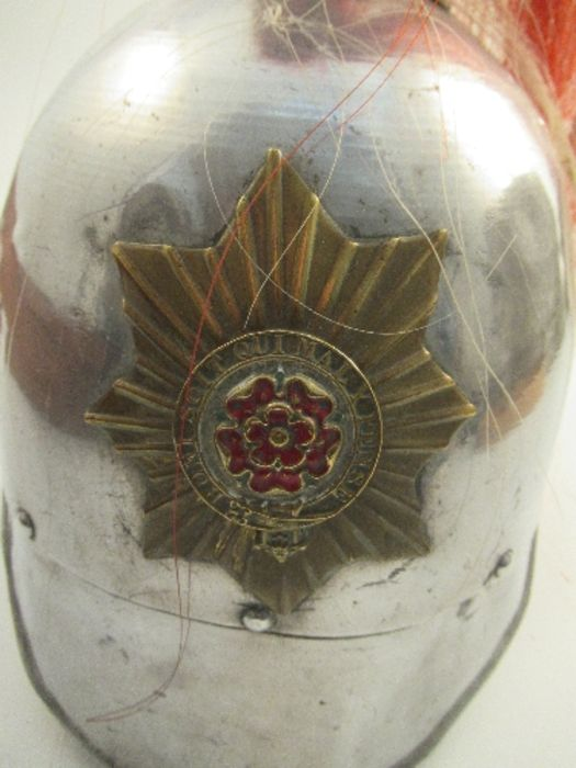 A parade helmet, bearing the crest and plume of the London Regiment - Image 5 of 6