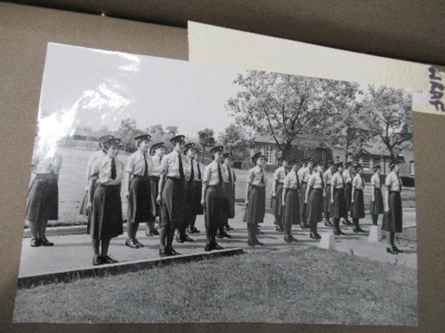 World War II, photograph / scrap album relating to Air Chief Commandant Dame Mary Welsh, from her - Image 4 of 6
