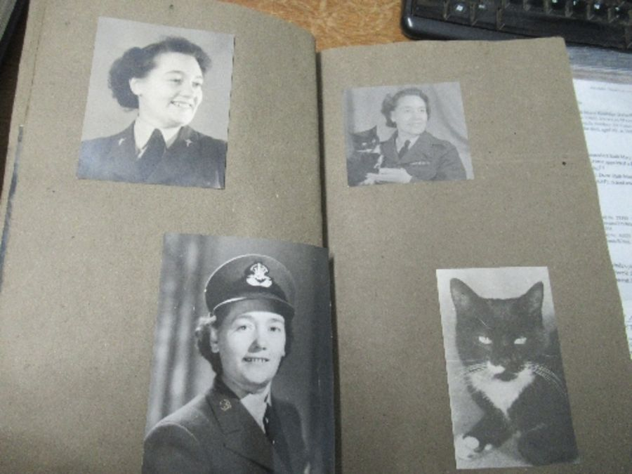 World War II, photograph / scrap album relating to Air Chief Commandant Dame Mary Welsh, from her - Image 3 of 6