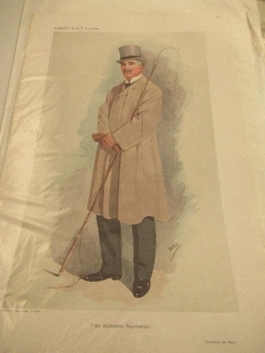 A collection of Vanity Fair prints, approximately 10 - Image 5 of 11