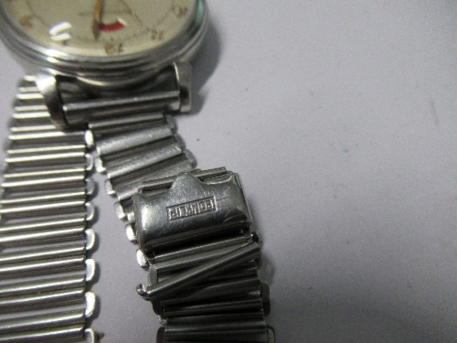 Jaeger Le Coultre, a gentleman's bumper automatic wrist watch, with up and down power reserve - Image 4 of 4