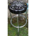 A Queen bar stool