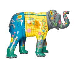 The Gardener An elephant dressed as a gardener H1600mm x L2150mmx W800mm, weight 40kg Artist: