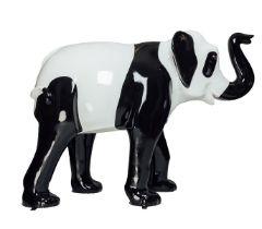 Panda A panda elephant H1600mm x L2150mmx W800mm, weight 40kg Artist: Steve Johnson Design