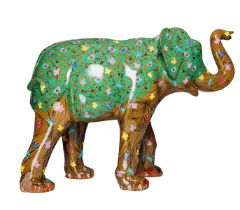 The Elephant Tree A tree elephant that is home to flowers, butterflies and wildlife H1600mm x