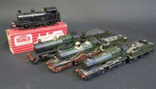 A Hornby Dublo 2206 0-6-0 Tank Locomotive BR Black in box, S4469 Great Western County of Oxford, a