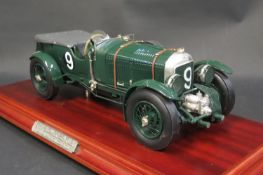A 1:12 Scale Blueprint Models 'The Blower Bentley' 1930 4.5 Litre Supercharged Bentley No. 27 of