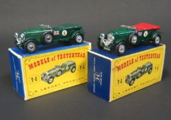 A Matchbox Models of Yesteryear Y5-2-3 1929 4 1/2 Litre Bentley in British Racing Green body and