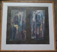 John Piper ( 1903 - 1992), Significant English Artist, 'Two Suffolk Towers, Artists Proof