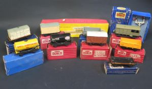 A Selection of Hornby Dublo OO Gauge Rolling Stock Boxed, Smooth Hour Transformer - Rectifier and