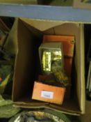 A Box of Brass Door Lock Safety Chains