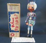 A Rare Pelham Puppet King Type SM in Box