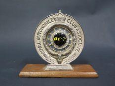 A Royal Automobile Club Association Devon & Cornwall Enamel Badge by Elkington & Co.