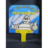 A CLASSIC MICHELIN 70 Series 80 Series Printed Sign on Metal, 57x47cm