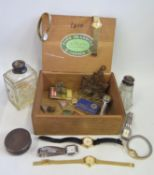 A Selection of Watches including Sekonda, Limit, Cimier etc., Birmingham silver pot and other