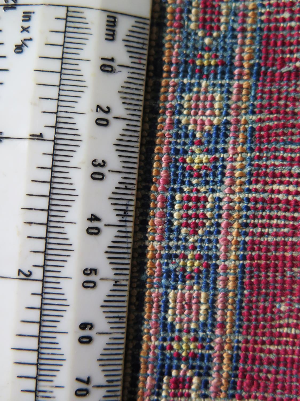 A Persian Qum (Ghom) Silk Garden Rug, c. 190x125cm - Image 3 of 6
