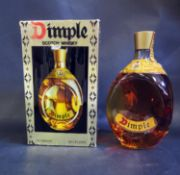 A Bottle of Dimple Scotch Whisky