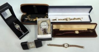 A Selection of Wristwatches including Timex, Accurist, Sekonda etc. A/F