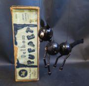 A Pelham Puppet L.A. Cat in Original Box with Instructions