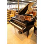 Bösendorfer (c1929) A 5ft 7in Model 170 grand piano in a mahogany case on square tapered legs.