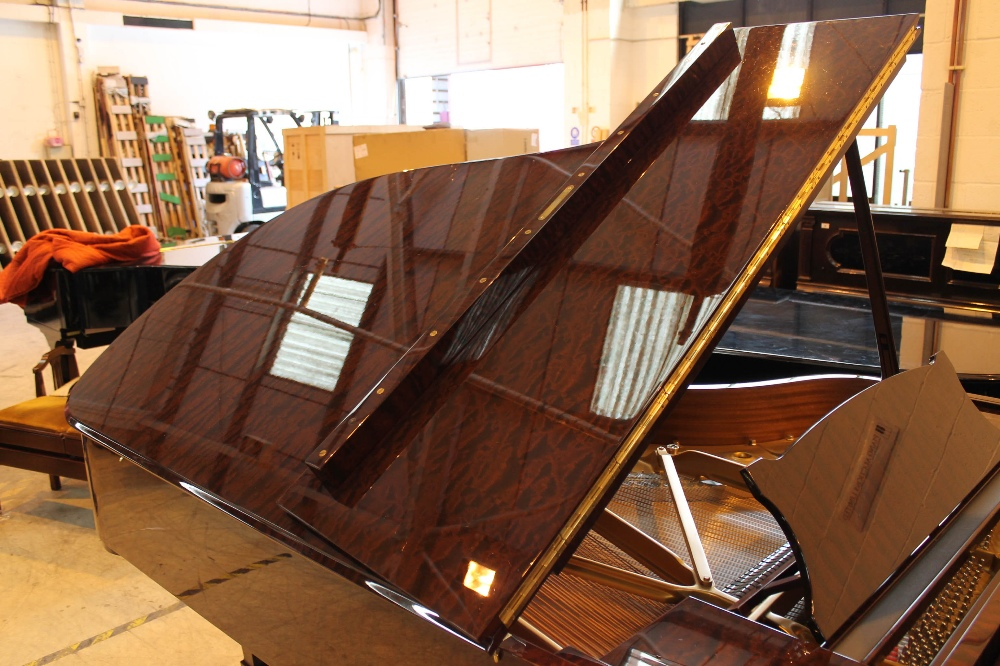 Steinway (c2009) A 6ft 11in Model B grand piano in a bright pommele mahogany case on square - Image 6 of 9