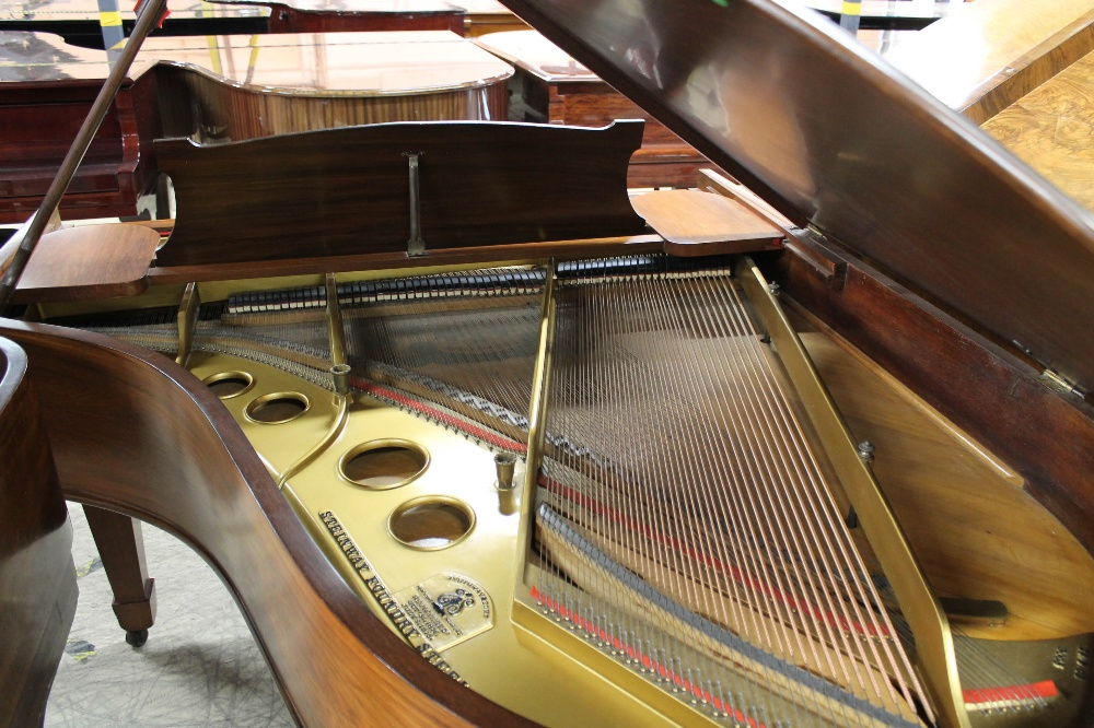 Steinway (c1904) A 5ft 10in Model O grand piano in a rosewood case on square tapered legs; - Image 8 of 9