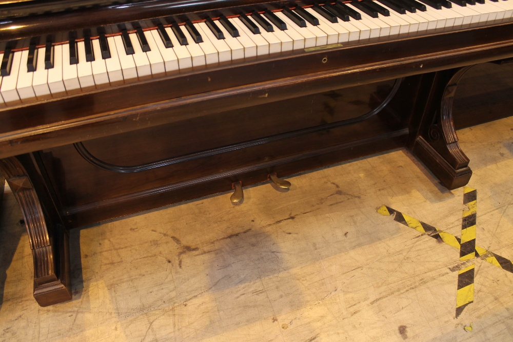 Steinway (c1892) An upright piano in a rosewood case; together with a stool. - Image 3 of 5