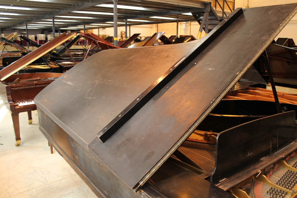 Steinway (c1888) A 9ft concert grand piano in an ebonised case on turned legs. - Image 6 of 8