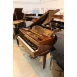 Kirkman (c1932) A 4ft 6in grand piano in a mahogany case on square tapered legs.