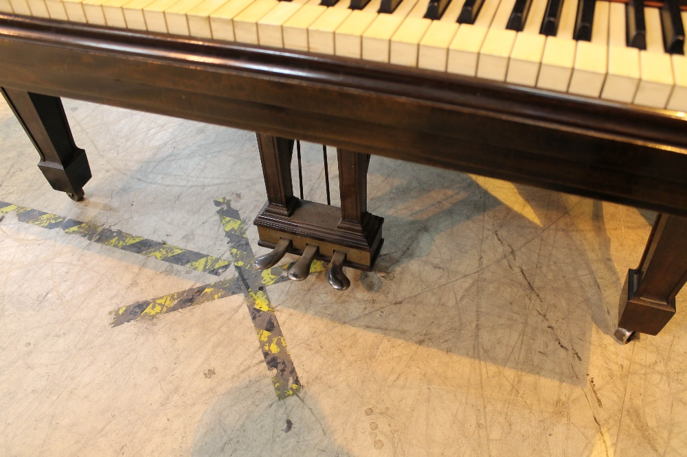 Steinway (c1921) A 191cm New York Model A grand piano in a mahogany case on square tapered legs. - Image 3 of 8