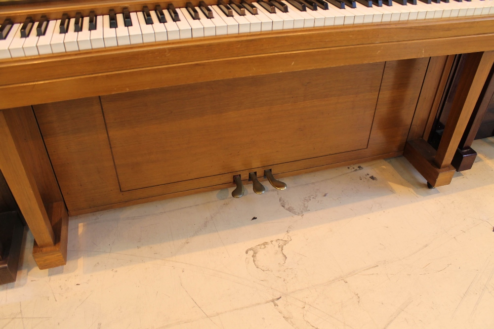 """Steinway (c1969) A """"New York Professional"""" upright piano in a walnut sable case; - Image 3 of 5"""