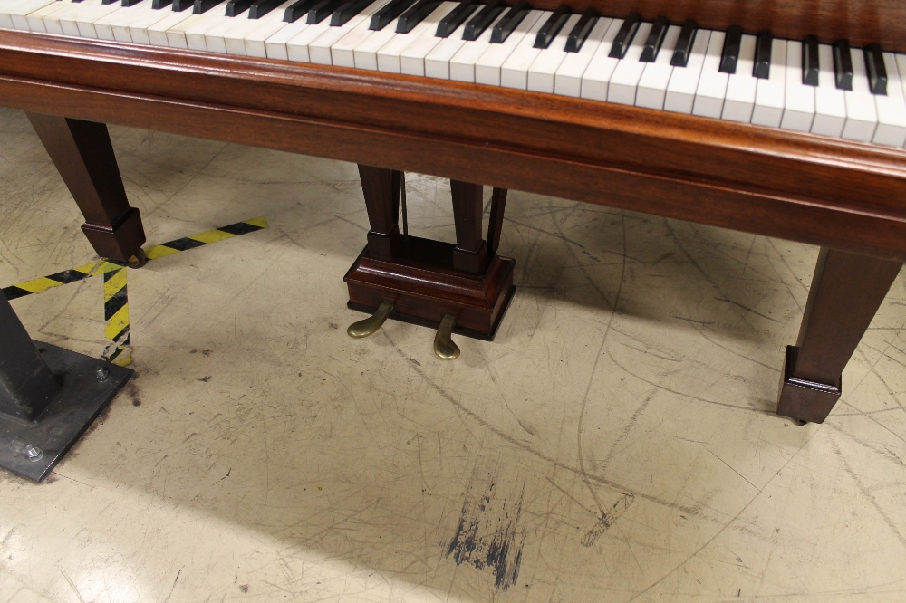 Steinway (c1926) An 88-note 5ft 10in Model O grand piano in a mahogany case on square tapered legs; - Image 3 of 8