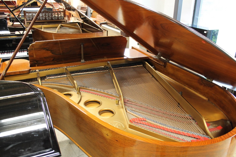 Steinway (c1908) A 5ft 10in Model O grand piano in a rosewood case on square tapered legs. - Image 8 of 8