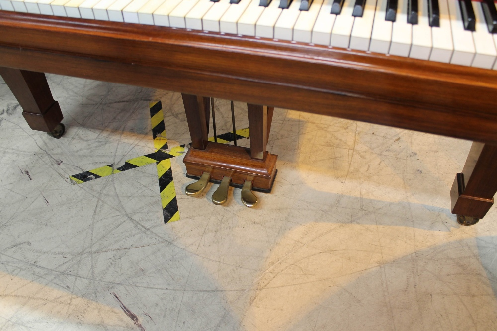 Steinway (c1928) A 7ft 5in grand piano in a French polished rosewood case on square tapered legs. - Image 3 of 8