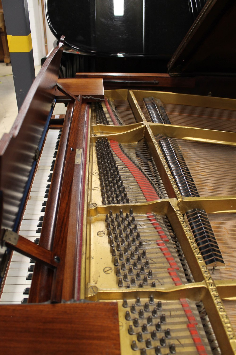 Steinway (c1926) An 88-note 5ft 10in Model O grand piano in a mahogany case on square tapered legs; - Image 5 of 8