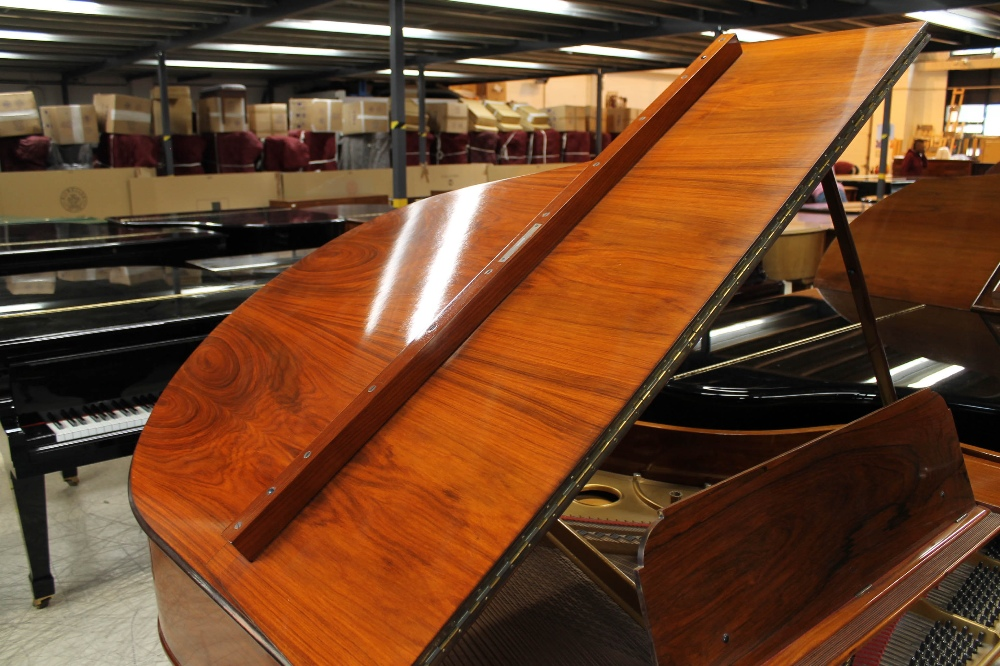 Steinway (c1908) A 5ft 10in Model O grand piano in a rosewood case on square tapered legs. - Image 6 of 8