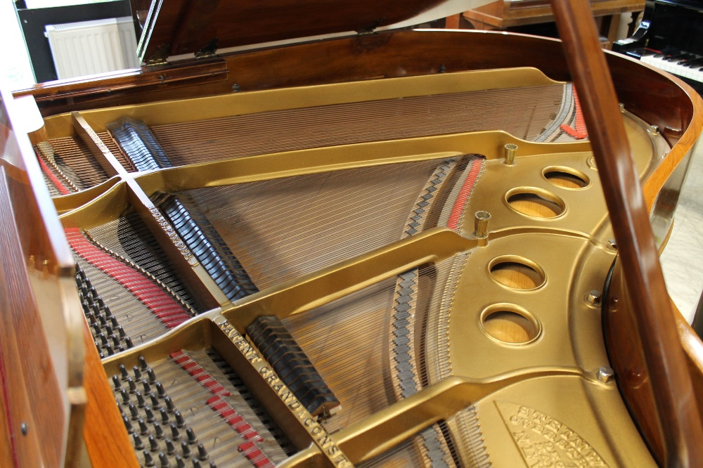 Steinway (c1908) A 5ft 10in Model O grand piano in a rosewood case on square tapered legs. - Image 4 of 8