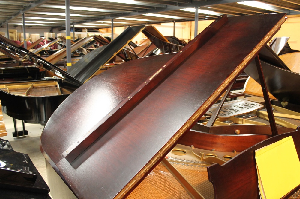 Steinway (c1940) A 5ft 10in Model O grand piano in a mahogany case on cabriole legs; - Image 6 of 9