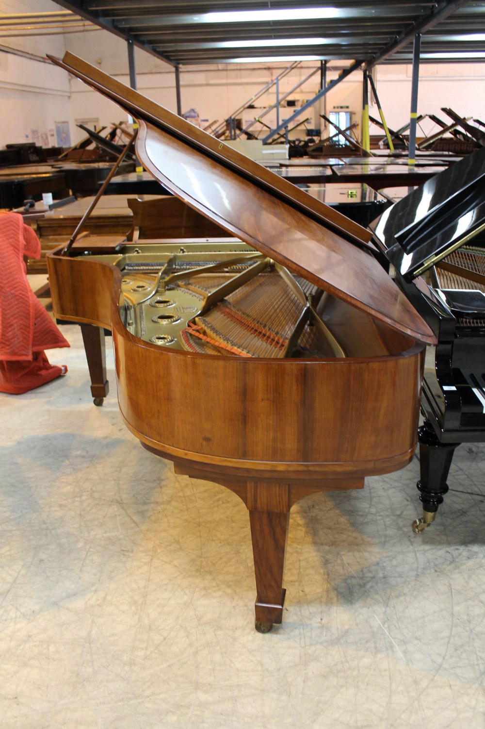 Steinway (c1928) A 7ft 5in grand piano in a French polished rosewood case on square tapered legs. - Image 7 of 8