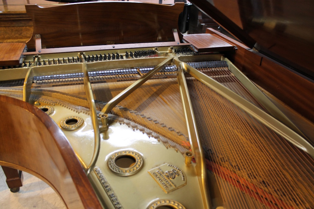 Steinway (c1928) A 7ft 5in grand piano in a French polished rosewood case on square tapered legs. - Image 8 of 8