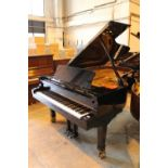 Petrof (c2001) A 7ft 10in Model 2 Monsoon grand piano in a bright ebonised case on square tapered
