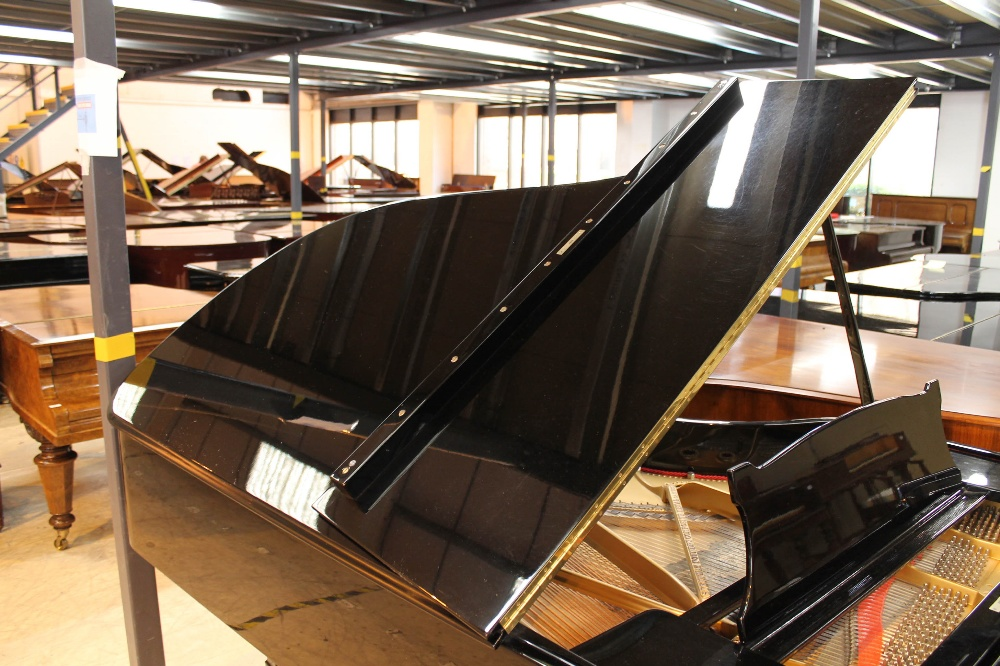 Steinway (c1890s) An 85-note 6ft 11in Model B grand piano in a bright ebonised case on square - Image 6 of 8