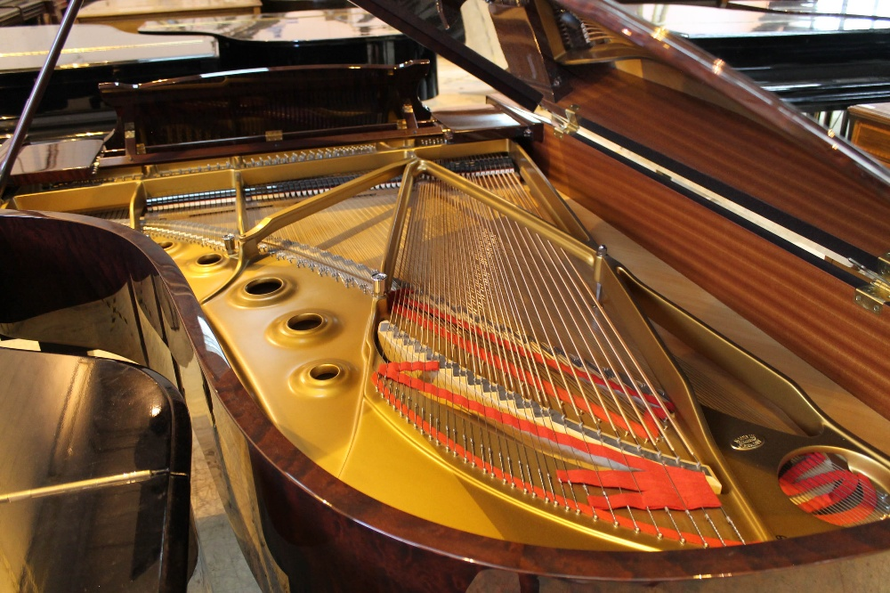 Steinway (c2009) A 6ft 11in Model B grand piano in a bright pommele mahogany case on square - Image 8 of 9