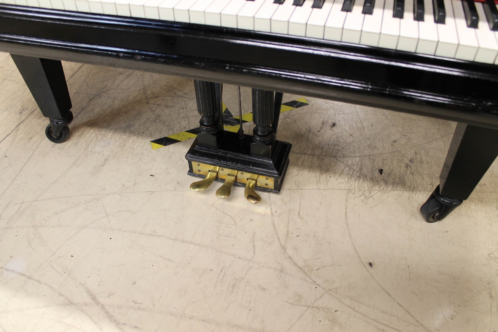 Steinway (c1898) A 6ft 2in 88-note Model A grand piano in an ebonised case on square tapered legs. - Image 3 of 8