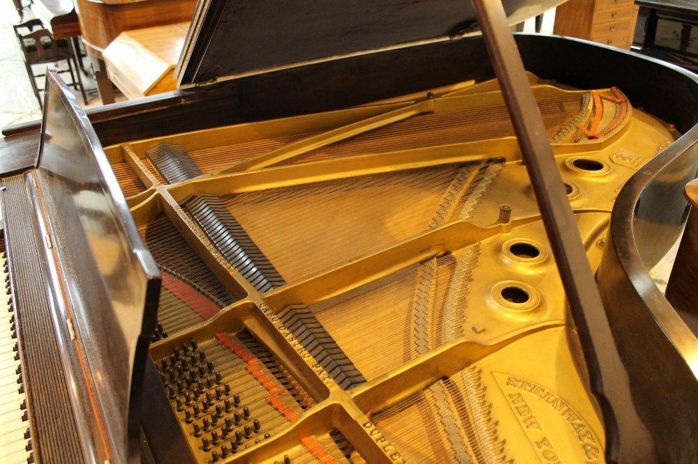 Steinway (c1921) A 191cm New York Model A grand piano in a mahogany case on square tapered legs. - Image 4 of 8