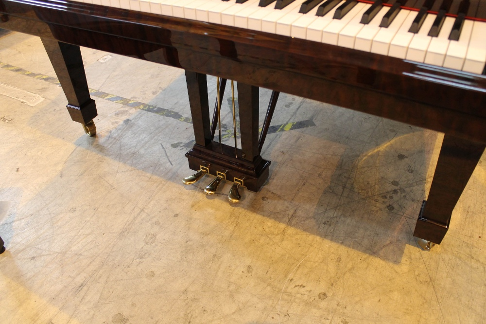 Steinway (c2009) A 6ft 11in Model B grand piano in a bright pommele mahogany case on square - Image 3 of 9